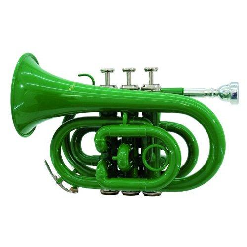 Dimavery 26503710 TP-300 B-Pocket-Trompete grün