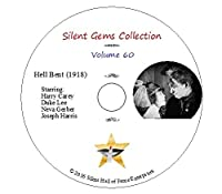 """DVD """"Hell Bent"""" (1918) director John Ford starring Harry Carey, Classic Silent Western"""