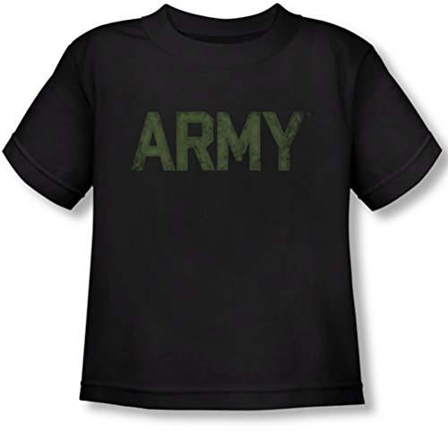 Army - - T-shirt de type enfant, 4T, Black
