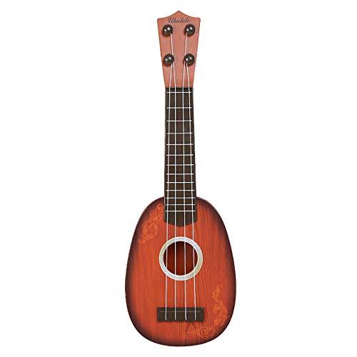 Juguete para ukelele para nios, juguetes para nios MyCreator, divertidos 4 cuerdas guitarra xilfono ukelele juguetes con caja de regalo de Navidad regalo de cumpleaos para nios de 2 a 4 aos