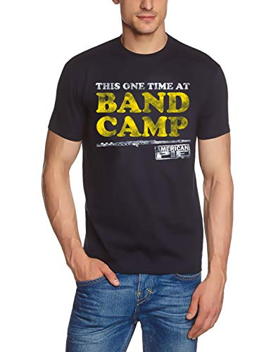 Coole-Fun-T-Shirts Band Camp American Pie ORIGINAL Navy maten S M L XL 2XL