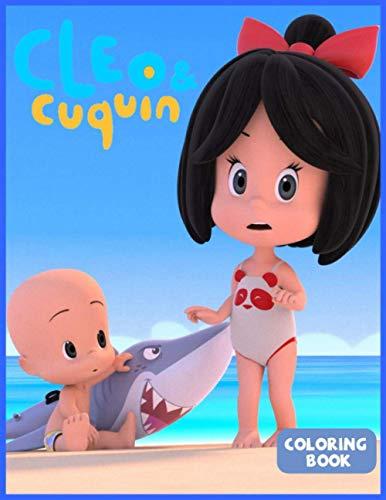 Cleo & Cuquin Coloring Book: Familia Telerín Libro para colorear