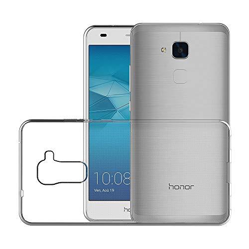 AICEK Huawei Honor 5C Hülle Case, Ultra-Clear Honor 5C Case Silikon Soft TPU Crystal Clear Premium Durchsichtig Handyhülle Schutzhülle Case Backcover Bumper Slimcase für Honor 5C - 4