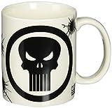 Zak Designs - Tazza da caffè in ceramica Marvel Comics, The Punisher