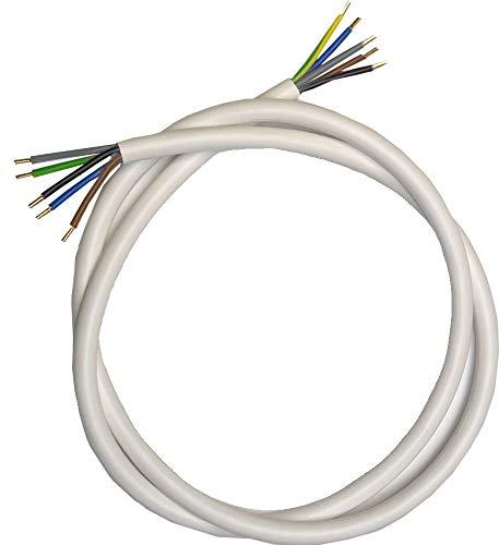 Herdanschluss Kabel mit oder ohne Dose 1,5-15 m fertig Verpresst 5 x 2,5 mm²