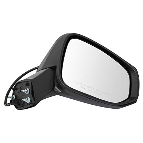 Side View Mirror Power Textured Finish Driver Side RH Compatible with Rav4