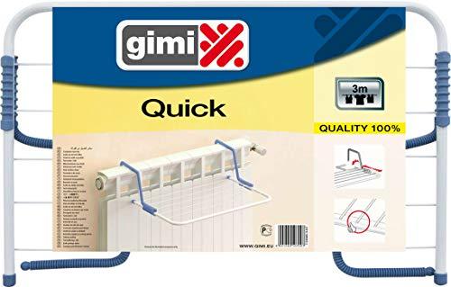 Gimi Quick wasdroger voor de radiator van staal, drooglengte 3 m