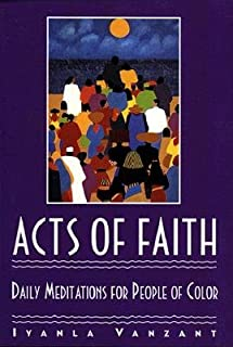 Acts of Faith: Daily Meditations for People of Color [ACTS OF FAITH -OS]