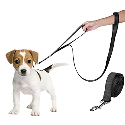 "Dog Leash, Itery Nylon Dog Pet Leash with Double Handle 6 Feet Length 1"" Width"