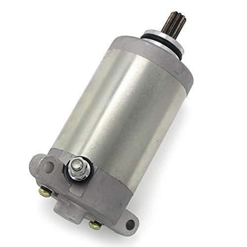 ZMMWDE Arranque eléctrico del Motor de Arranque de la Motocicleta,para Kawasaki KLF220 Bayou 220 1988-2002 KLF250 250 21163-1266 21163-1253 21163-1130