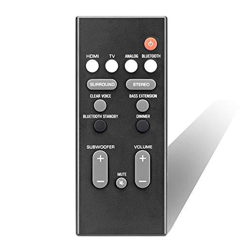 KubKugo FSR78 ZV28960 Remote Control Replacement fit for Yamaha Soundbar System ATS-1060 ATS1060 YAS106 YAS-106