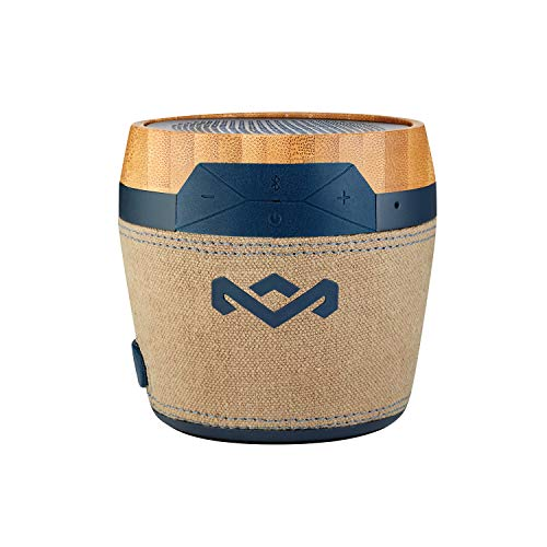 House of Marley Chant Mini Cassa Altoparlante Portatile Bluetooth Wireless, Design Resistente agli Schizzi (IPX4), Microfono...