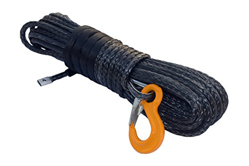 10mm *30m cable,Synthetic Winch Cable Rope for ATV UTV,sintético cabrestante,Offroad Rope (gris)