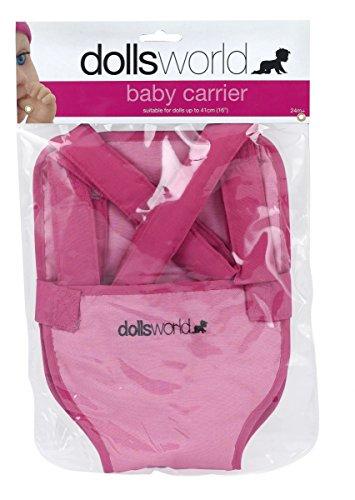Dolls World - Baby Carrier – Porte-Bébé pour Poupon 46 cm