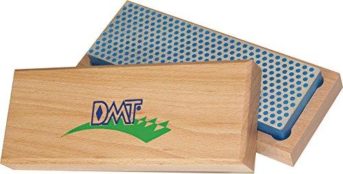 DMT Pierre à affûter diamant grossière avec boîtier en bois dur, 15,2 cm / 6 pouces, 1 pièce, W6C