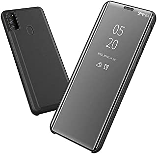 Clear View Standing mirror With Out Sensor Not Smart For Samsung M30s - Black