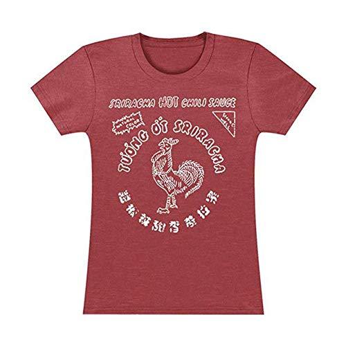 Sriracha Bottle Label Juniors Camiseta | XL