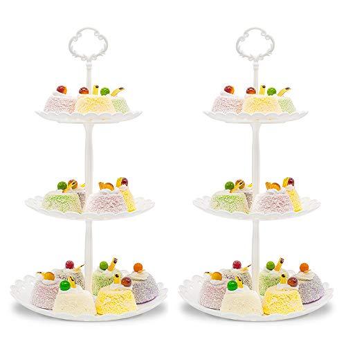 Imillet Cupcake Stand/Holder Plastic Dessert Stand...