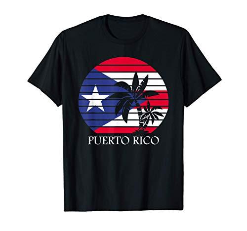 Puerto Rico Shirt Palm Trees Boricua Pride Puerto Rican T-Shirt