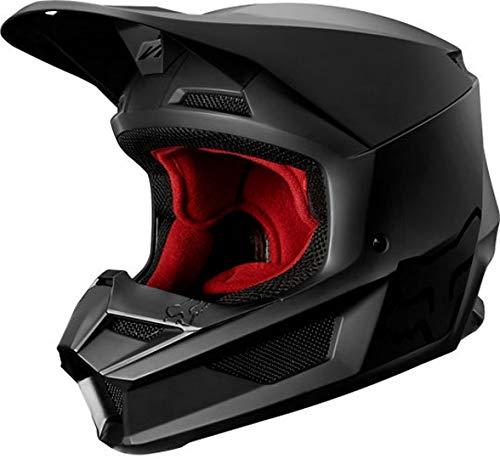 2020 Fox Racing Youth V1 Matte Black Helmet-YL