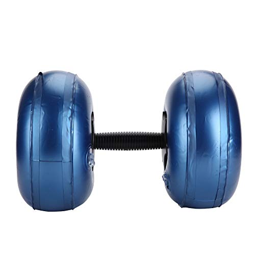 WLH Verstellbare Hantel Wassergefüllte Barbells Umweltfreundliche Fitnessgeräte (16~20 Kg Blau)