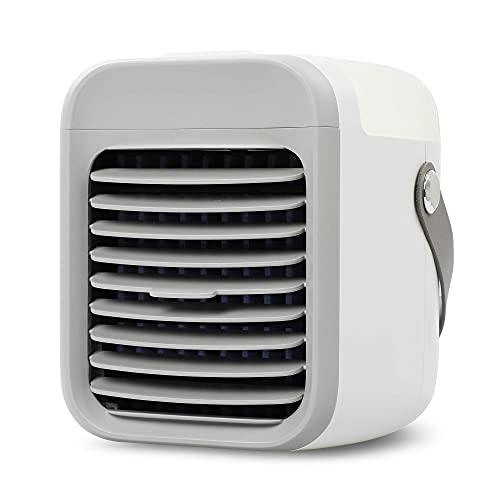 BLAUX Portable AC - Blast Auxiliary climatizador de aire portátil silencioso a batería con iluminación ambiental | Enfriador de aire | Climatizador frío portátil | Mini enfriador de aire