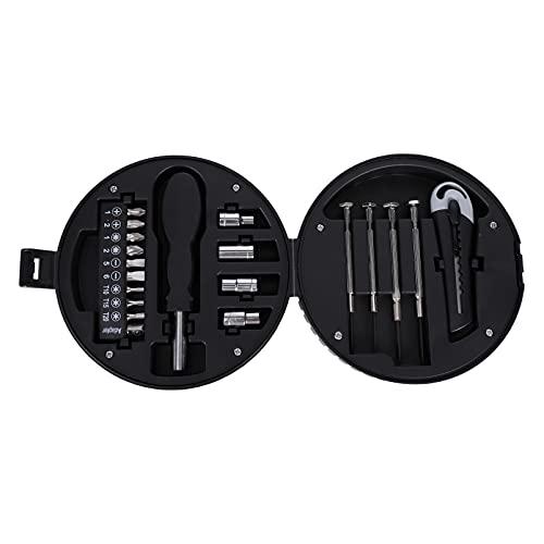 Angoily 20 Piezas Mini Destornillador Conjunto Reparación de Teléfonos Herramientas de Desmontaje para Relojes Gafas Electrónica Tableta Ordenador Reparación de Teléfonos Celulares