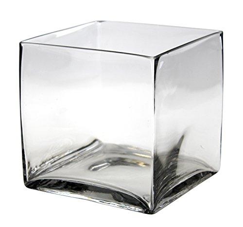 Deko Glas-Schale Würfel
