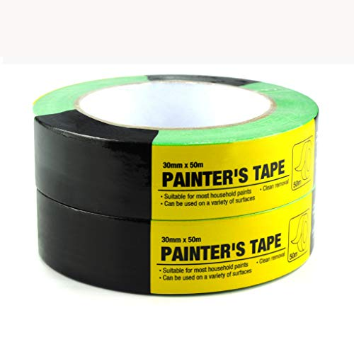 Painters Masking Tape,Paint Roller,Paint Rollers,Masking Tape,Office Tape,Multi use,Heavy Duty,Tapes,Paint Tapes,1.18-Inch by 54.6 Yards2Pack Easy Removal 50003A