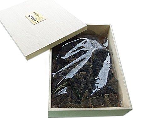 乾燥ナマコ A級品 1kg 化粧箱入り (Aランク) 北海道産乾燥なまこ 金ん子 (中華高級食材) 干し海鼠 北海キンコ 海参 海参皇 干しなまこ (干しナマコ) ギフトやプレゼントに
