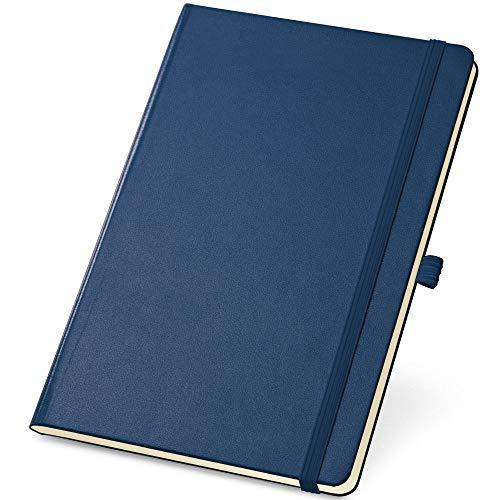 Caderneta de Anotações 13,7x21cm 80 Folhas Sem Pauta Azul