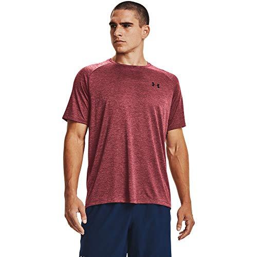 Under Armour Tech 2.0 - Camiseta de Manga Corta para Hombre, Tech 2.0 - Camiseta de Manga Corta, Hombre, Color Azul (652)/Negro, tamaño Medium