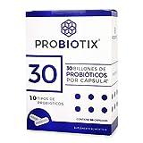PROBIOTIX | 30 Billones de Probióticos | 10 Cepas | 30 Cápsulas