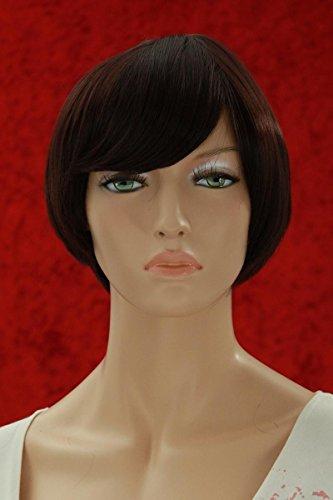 Wigs Women Short Black/Red Trendy (perruque)