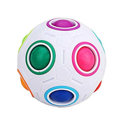Cooja Magic Rainbow Ball Puzzle, Juguete para Niños