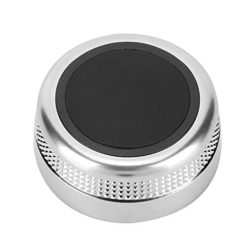 Medieknopp co-ver – bil multimediakontroll knapp co-ver anti-slitage kompatibel med A6 S6 C6 2005-2008 4F0 919 069A