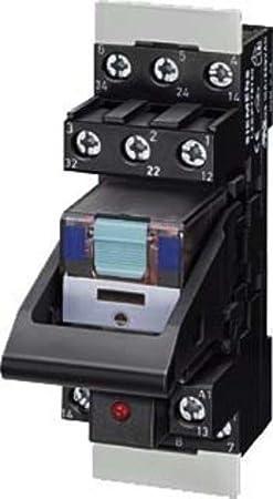 Siemens sirius - Rele enchufable completo 24vdc 4 conmutador estandar tornillo