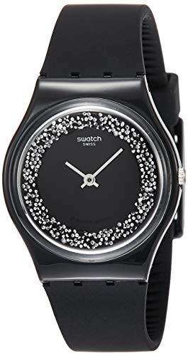 Swatch Herren Analog Quarz Uhr mit Silikon Armband GB312