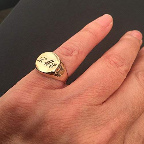 Personalized Ring letter Ring Monogram Initial Ring Pinky ring men  women ring Gift for women Engraved ring Initial ring