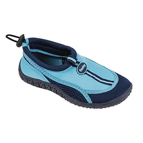 Fashy Jungen Guamo Kinder Aqua-Schuh Sport- & Outdoor Sandalen, Blau (Marine-Hellblau 51), 27