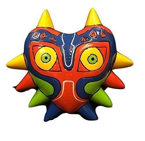 majora's de color Máscara - Zelda Estilo Duro Plástico - Universal con elástico correa