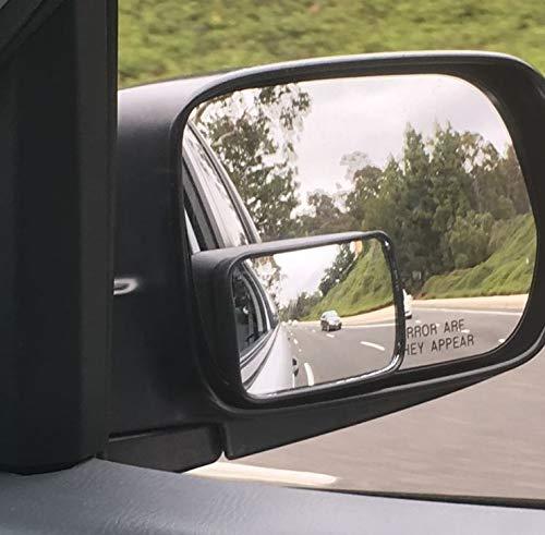 (38 mm x 51 mm) extra achteruitkijkspiegel dodehoekspiegel auto blind spot spiegel trailer