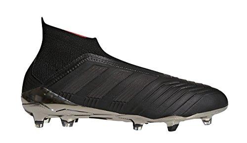 adidas Predator 18+ FG Soccer Cleat (Men's), 8.5 D(M) US, Core Black/Core Black/Real Coral