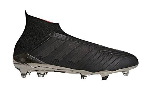 adidas Men's Predator 18+ FG Soccer Cleat, 9.5 D(M) US, Core Black/Core Black/Real Coral