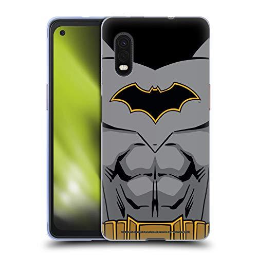 Head Case Designs Oficial Batman DC Comics Disfraz de Renacimiento Logotipos Carcasa de Gel de Silicona Compatible con Samsung Galaxy Xcover Pro