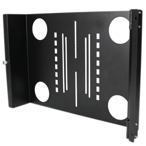 StarTech.com Universal Swivel VESA LCD Mounting Bracket for 19in Home Server Rack or Cabinet (RKLCDBKT)