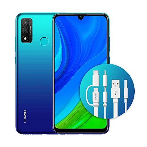 "Huawei Psmart 2020 con Adattatore AP55S, Display FullView da 6.21"", Kirin 710 - Octa Core (Versione Italiana), Aurora Blue"