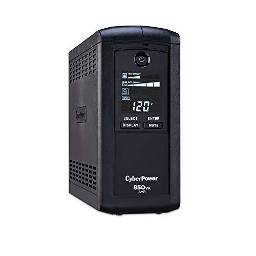 CyberPower CP850AVRLCD Sistema de alimentación ininterrumpida (SAI) de 850 VA