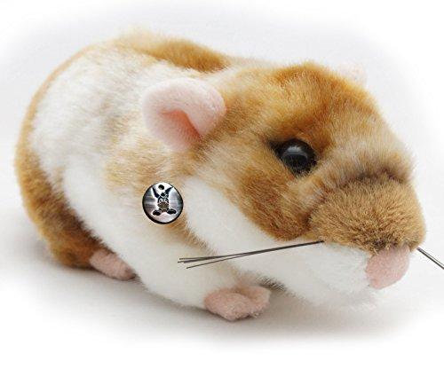 Goldhamster BLÜMCHEN Hamster 18 cm Plüschtier von kuscheltiere.biz