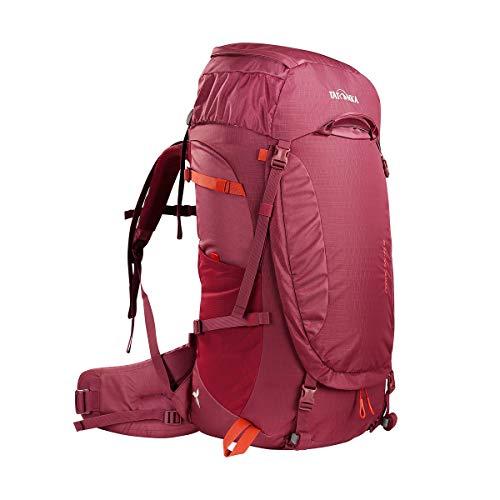 Tatonka Noras 55+10 Women - Trekkingrucksack für Damen - mit Frontöffnung - 65 Liter - bordeaux red